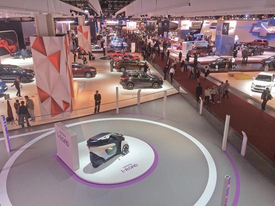 В столице открывается Московский международный автосалон
