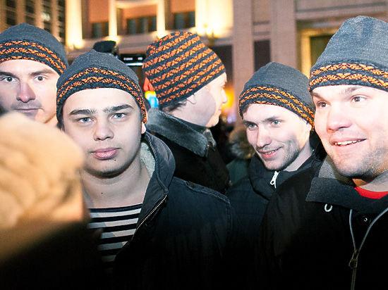 «Антимайдан» объяснил происхождение георгиевских шапок