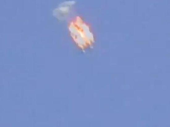 Ополченцы сбили в Славянске украинский Ан-30Б