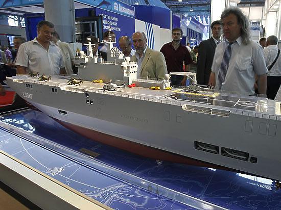 Военных кораблей России не видать?