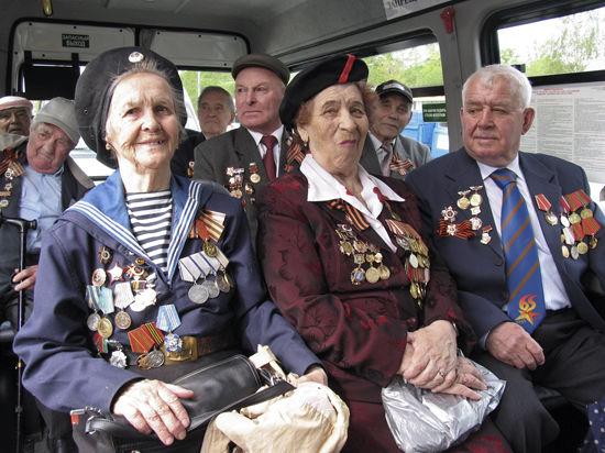 Ветеранов повезут бесплатно на всех видах транспорта