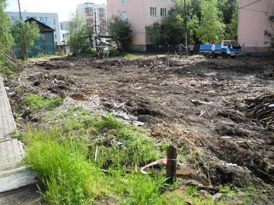 В 2014 году Якутск избавится от «деревяшек»