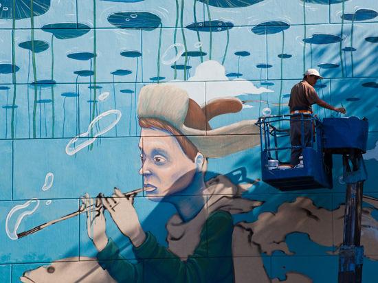 В Москве легализовали настенную живопись
