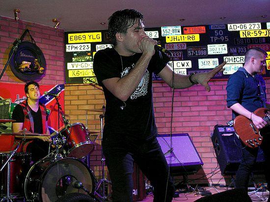 В рамках первого российского тура американская группа «Reverse Order» отыграла в Архангельске