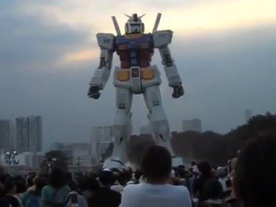 Японцы дадут миру реального шестиэтажного робота Гандама