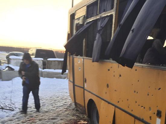 ДНР не подтверждает обстрел автобуса под Донецком с десятью жертвами: во всяком случае - не