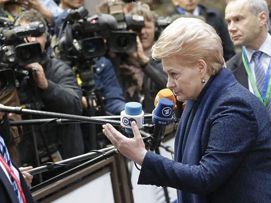 Президент Литвы назвала Россию террористическим государством, угрожающим Европе