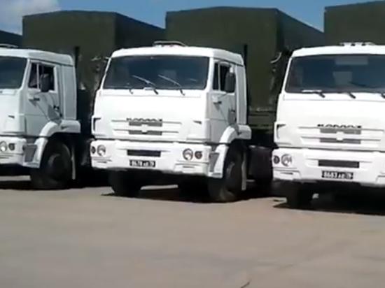 Груз гуманитарного конвоя из России Украина направит своим военным?