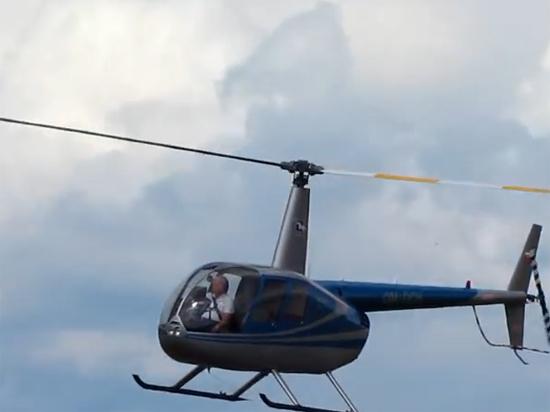 Под Пензой в болото рухнул вертолет, совершавший облет нефтепровода