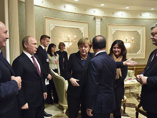 Переговоры в Минске:
