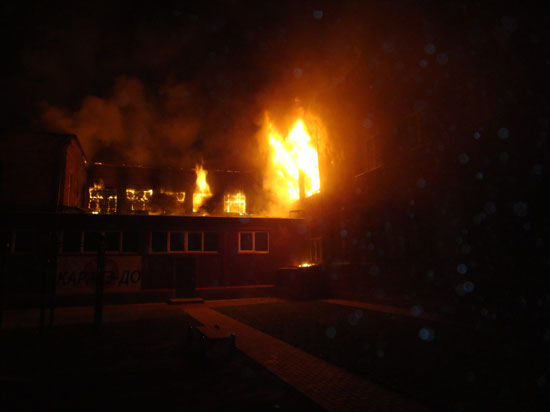 Пожар в подмосковном военкомате не затронул дел призывников