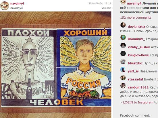 Двух соратников Навального по Фонду борьбы с коррупцией обыскали из-за картины современного художника