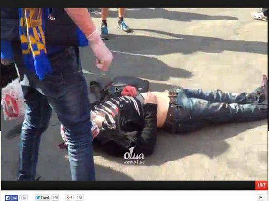 Футбольный матч в Одессе: трое убитых, два десятка раненых