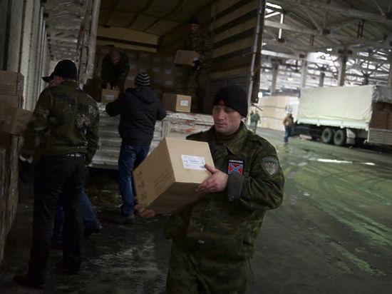 Девятый российский гумконвой для Донбасса стартовал из Ногинска