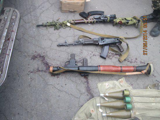 Украина: Госграницу страны пересекли вооруженные отряды с территории России, ФСБ РФ это отрицает