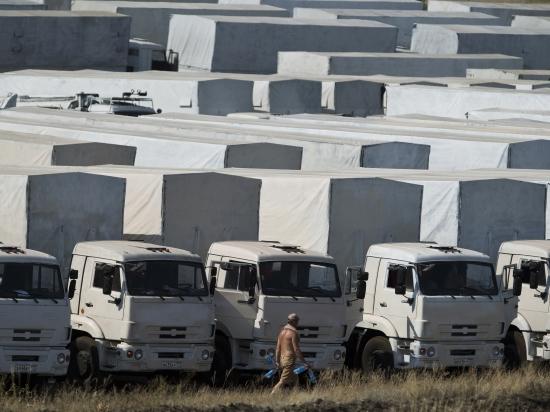 СБУ считает отправку гуманитарного конвоя РФ прямым вторжением в Украину