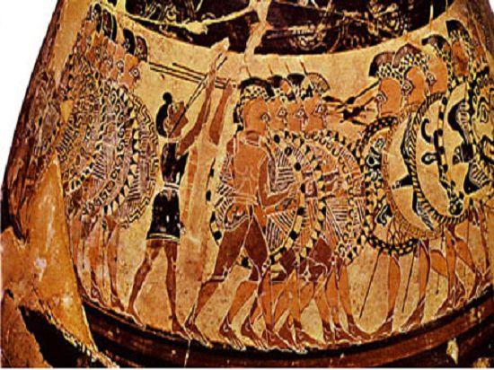 Почему древние греки не «брали», а «ставили» военные трофеи?