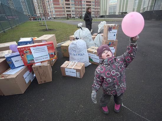 Донбассу не хватает конфет