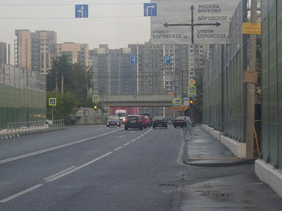 Мэр Москвы держит свое слово по развитию дорог в Новой Москве