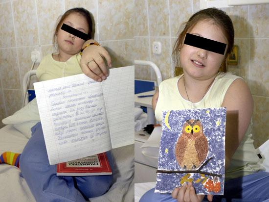9 лет мама не может добиться для дочери, потерявшей руку, помощи от государства