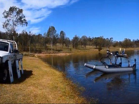 Австралийские студенты разработали поисково-спасательное судно, которое может действовать абсолютно автономно