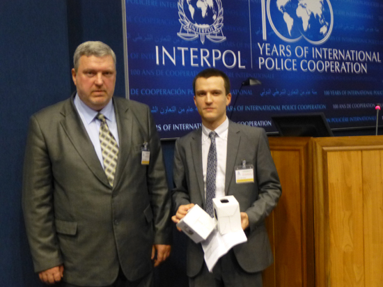 Российские ученые выступили на конференции Интерпола с уникальным докладом