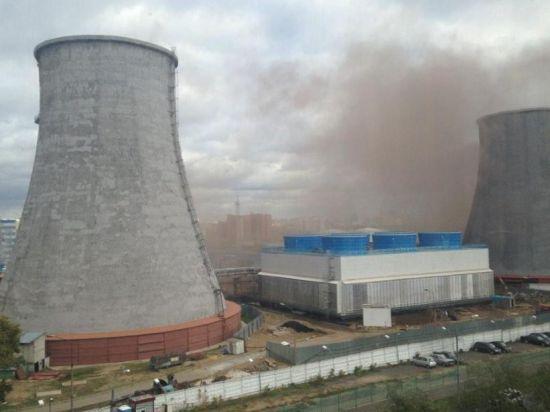 Очевидцы сообщили о взрыве на ТЭЦ-16 в Москве