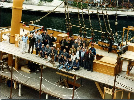 Ялтинская киностудия имела свой флот