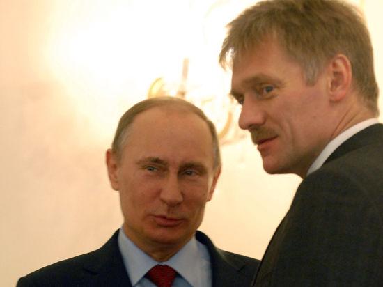 Песков: Россия не будет бомбить Украину