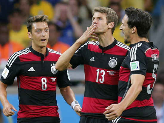Чемпионат мира по футболу: Германия разгромила Бразилию 7:1 и вышла в финал мундиаля. Онлайн