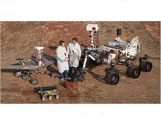 Ученые думают, что Curiosity мог перенести на Марс микроорганизмы с Земли