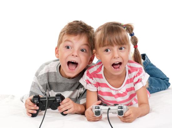 Компьютерные игры травмируют зрение и психику детей