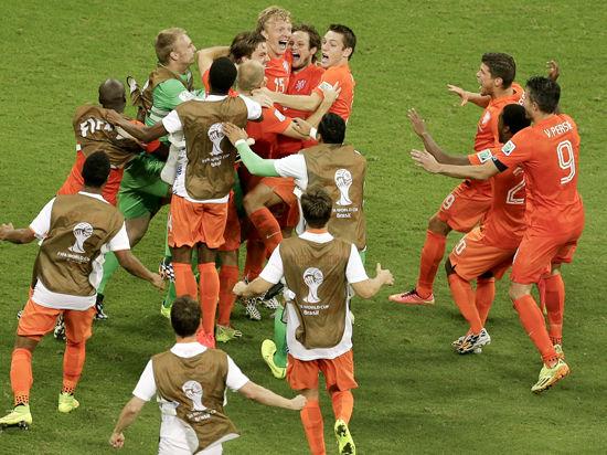 Чемпионат мира по футболу: Америка - Европа - 2:2
