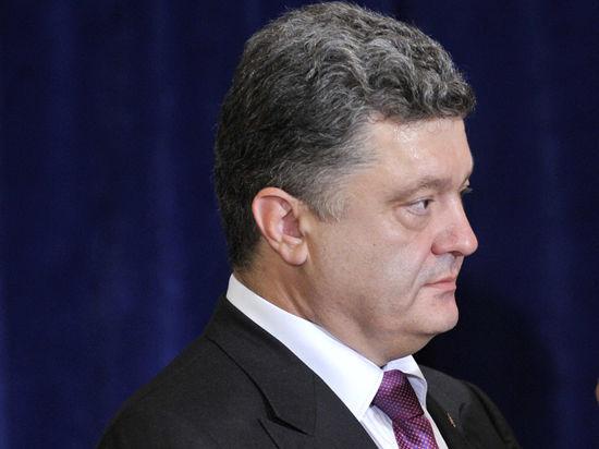 Порошенко испугался заградительных пошлин России