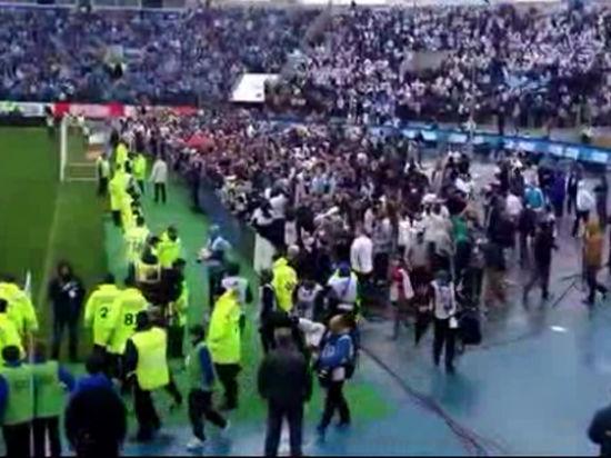«Зенит» - «Динамо»: стюарды - не полиция, Россия не Европа