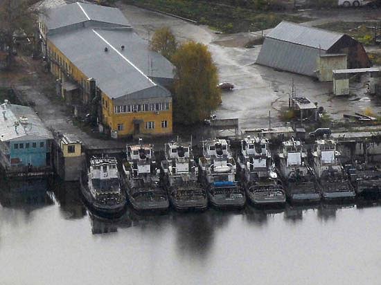 Москва-река  начала мельчать,  к ужасу  паромщиков