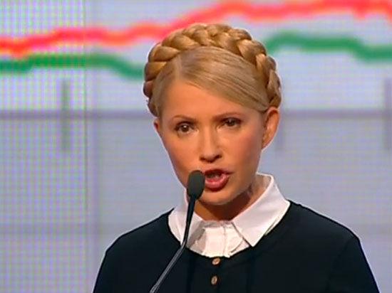 Тимошенко устроила истерику: