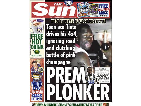 Футболиста из Африки поймали с шампанским за рулём, а судья сбежал от фанатов