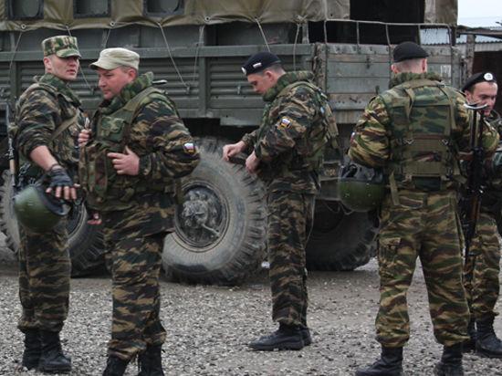 Украинскую границу пересекла группа российских офицеров