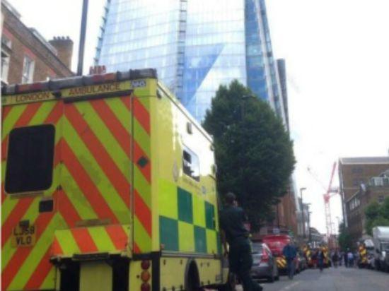 Из-за угрозы пожара эвакуировался самый высокий небоскреб Лондона
