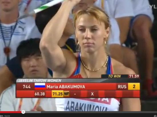 Легкая атлетика: Мария Абакумова и Дмитрий Тарабин - две дочки с рекордным весом!