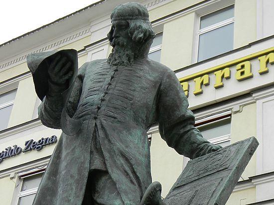 Во Львове перезахоронили останки первопечатника Ивана Фёдорова
