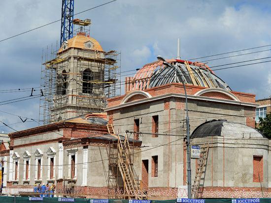 В Москве восстановят утерянные храмы