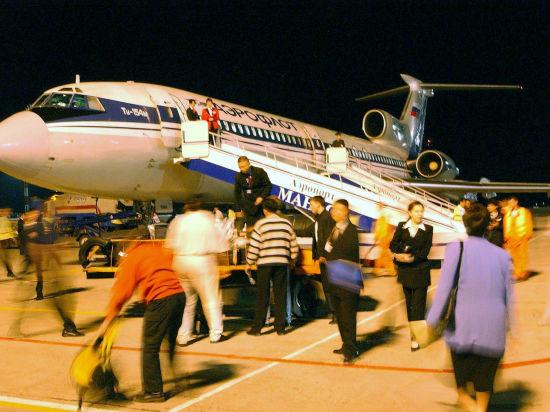 В Новосибирске сломавшееся шасси не помешало приземлиться пассажирскому лайнеру