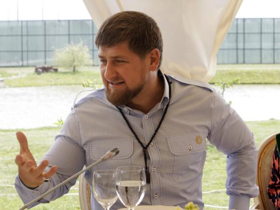 Рамзан Кадыров стал байкером клуба