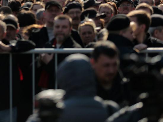 В Москве создается новая методика учета посетителей митингов
