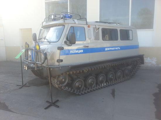 Российскую полицию оснастят аэроджипами, катерами-амфибиями и снегоболотоходами
