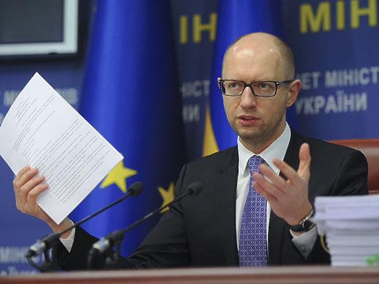 Яценюк: Киев обеспечит Донбасс газом и светом, но оставит без дотаций