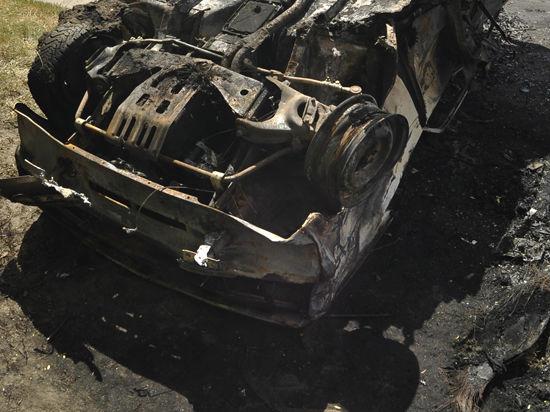 В Дагестане автомобиль со школьниками упал в обрыв