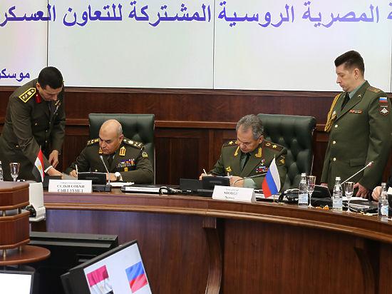 Россия будет поставлять Египту комплексы ПВО